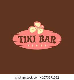 Tiki logo concept design - Vector EPS10.