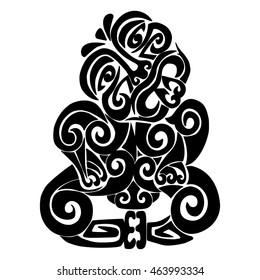Tiki - the main deity Maori.