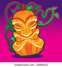 Tiki Voodoo Pumpkin