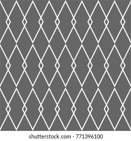 Tile black and grey vector background or pattern