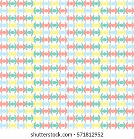 Tile colorful pattern. Vector background.