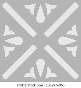 Tile grey, black and white decorative floor tiles vector pattern or seamless background