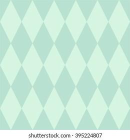 Tile vector pattern or mint green wallpaper background