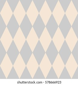 Tile vector pattern with pink and grey background