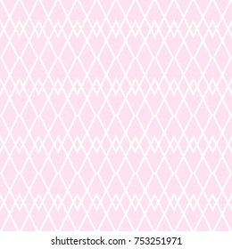Tile vector pattern with pink and white background