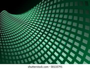 Tiled vector abstract surface illustration