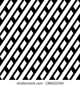 Tilted stripes, quadrangles backdrop. Seamless vector. Diagonal lines, parallelograms background. Geometrical pattern. Ethnic ornament. Digital paper, web design, textile print, abstract wallpaper