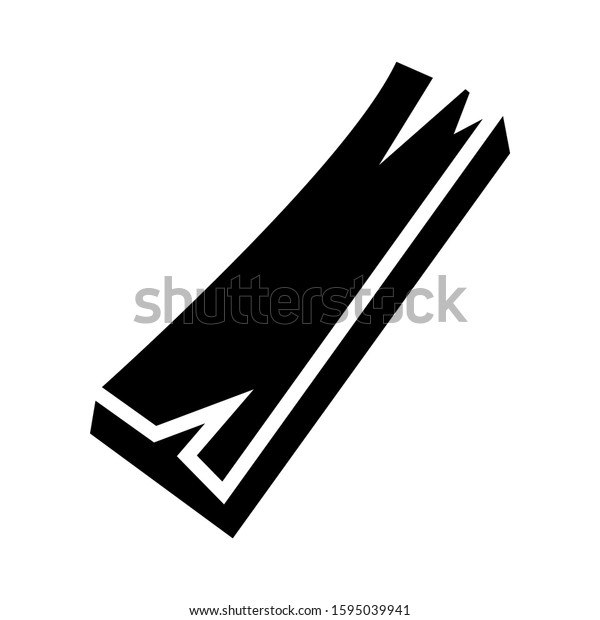 timber icon isolated sign symbol vector illustration - high quality black style vector icons