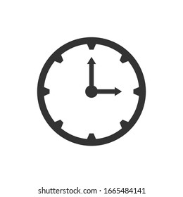 Time around clock icon vector