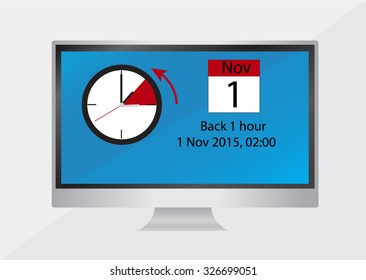 Switch Winter Time Images Stock Photos Vectors Shutterstock