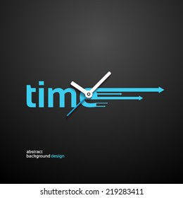 Time Concept background design