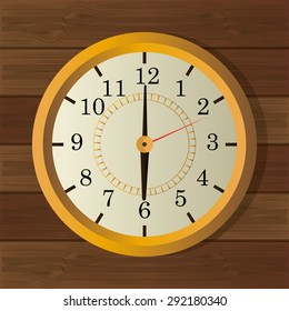 Time digital design, vector illustration eps 10.