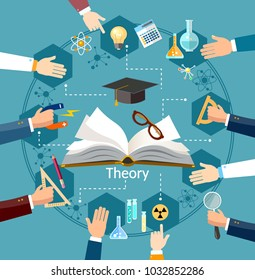 Time to education open book school subjects effective education power of knowledge back to school vector