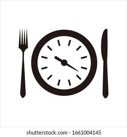 time food logo,vector Logo Template