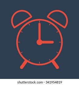 time icon- alarm clock
