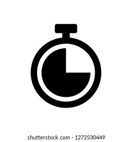 Time icon. Clock icon vector