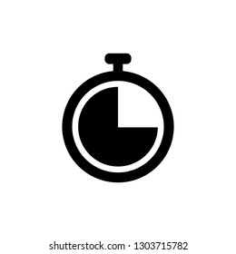 Time icon. Clock icon vector - Vector