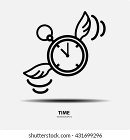 Time icon set, Concept of time