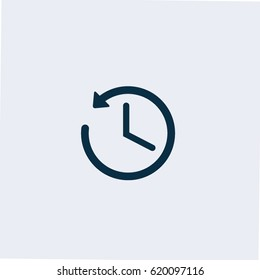 Time icon,Clock icon vector
