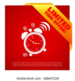 Time limited offer poster
