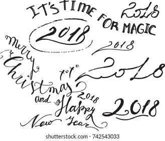It's time for magic, 2018 sign