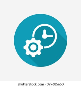 Time management vector icon