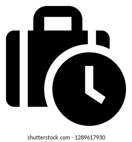 Time Off Vector Icon
