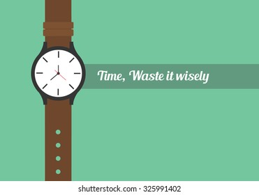 time quotes to use your time wisely watch wristwatch