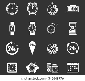 Time symbol for web icons