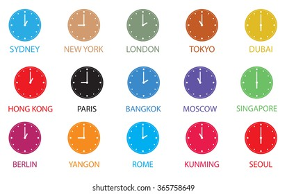 Time zone images stock photos vectors shutterstock time zone world gumiabroncs Gallery