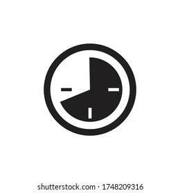 Timelapse icon design isolated on white background