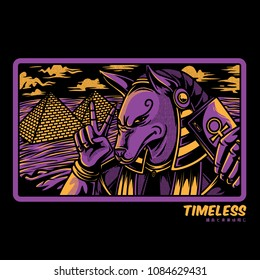 Timeless Past Illustration