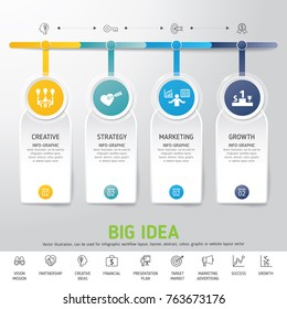 timeline infographics template modern info graphic design for business template marketing creative