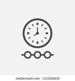 Timeline vector icon
