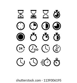 Timer icons templates