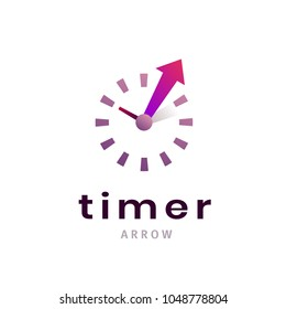 Timer sign icon. Creative stopwatch symbol. Clock, time company logo design, business concept. Trendy icon vector illustration.