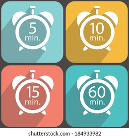 Timers colorful