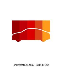 Tint Auto Car Vector Logo Design Element