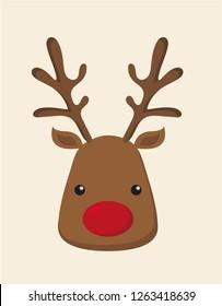 Tiny cute reindeer