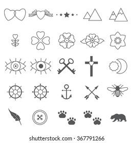 a75308229e1df Tiny Tattoo Images, Stock Photos & Vectors | Shutterstock