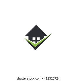 Tip house vector logo.
