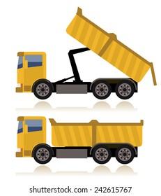tipper truck, dumper truck
