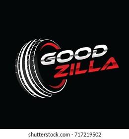 Tire Automotive Service Logo Symbol
