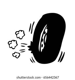 Image result for hands pose illustration vector flat ...  Flat Tires Cartoon Hands