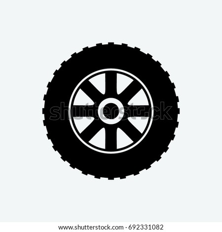 tire icon vector stock vector royalty free 692331082 shutterstock