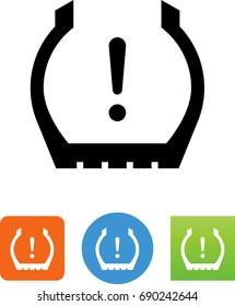 Tire Pressure Monitoring System Icon