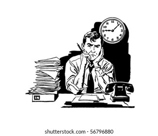 Tired Of Your Old Job? - Frustrated Office Worker