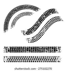 Tires design over white background, vector illustration.