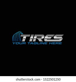 Tires Logo, Perfect logo for business related to automotive industry.