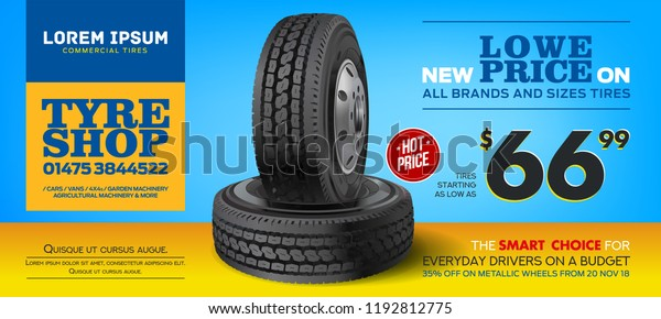 Tires For Sale >> Tires Sale Discount Tire Print Advertisement Stock Vector Royalty